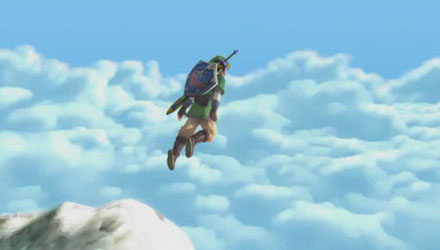 Zelda: Skyward Sword non era pensato per Wii Motion Plus