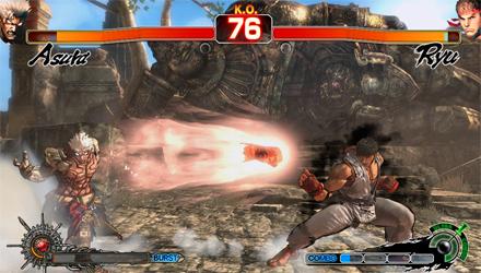 Asura's Wrath: un DLC con Ryu di Street Fighter