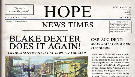 Hitman: Absolution, ecco il primo numero di Hope News Times