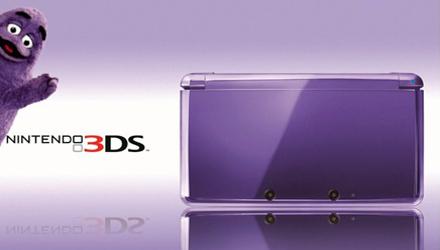 Nintendo 3DS Midnight Purple negli USA con Mario Tennis Open