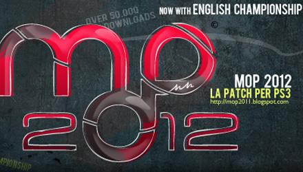PES 2012: MOP 1.8, aggiornamento per la patch amatoriale PS3