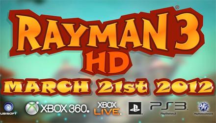 Rayman 3 HD in arrivo a marzo