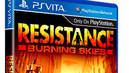 Resistance: Burning Skies per PS Vita a fine maggio