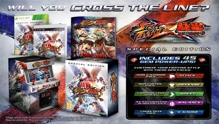 Street Fighter x Tekken, una Special Edition per l'Europa