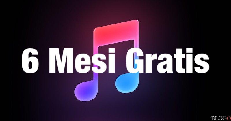 Apple Music - 6 Mesi Gratis