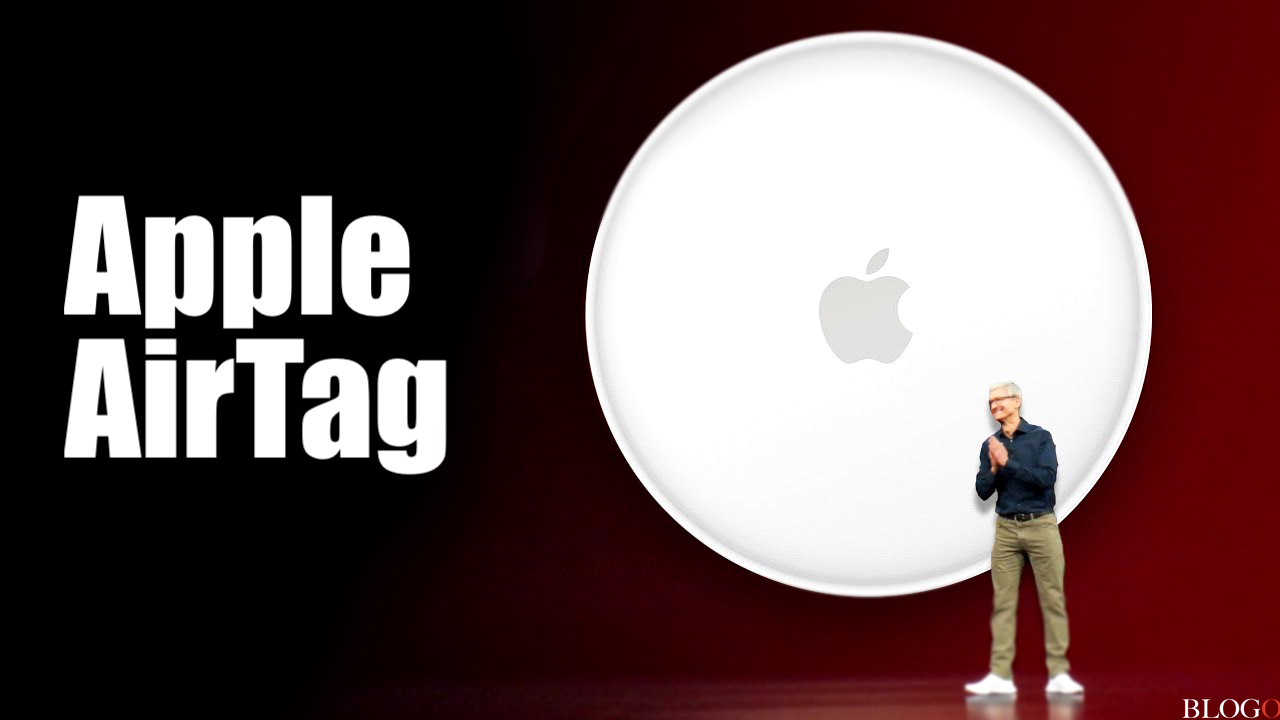 Apple AirTags - Tim Cook