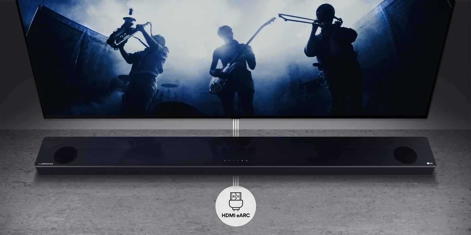 Soundbar LG - AirPlay 2