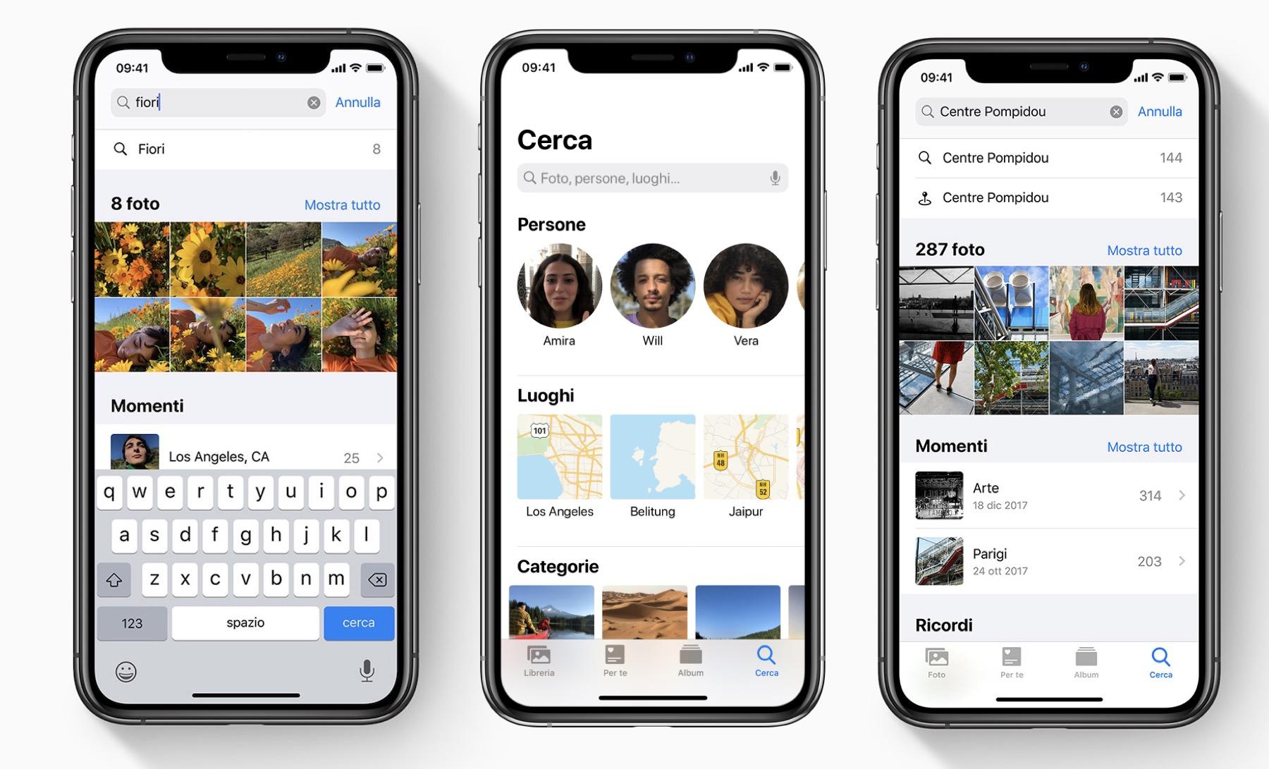 Cercare Foto su iPhone