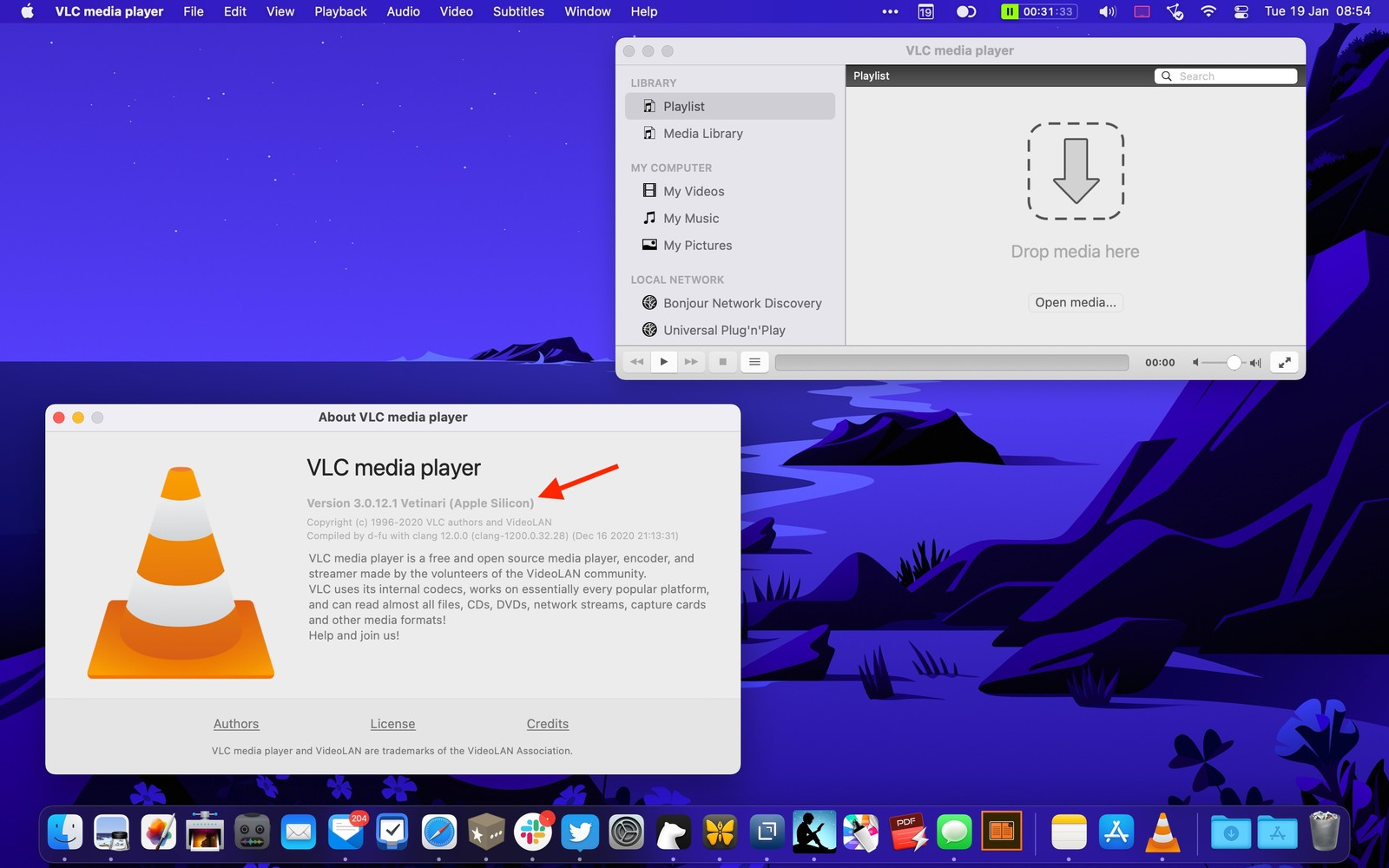 VLC per Mac M1