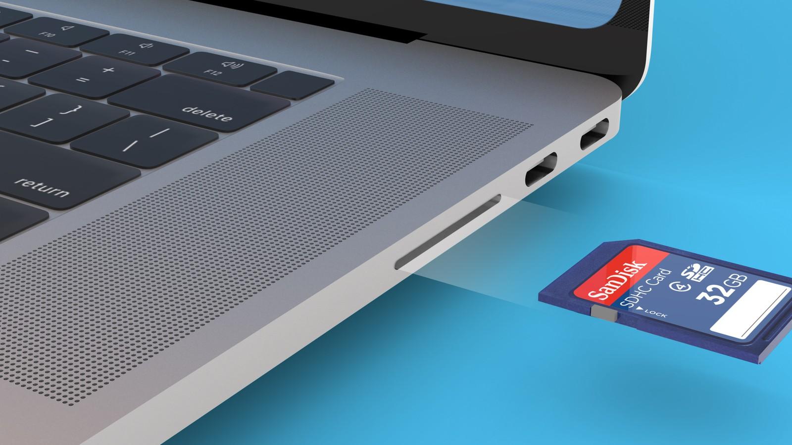 MacBook Pro Slot SD