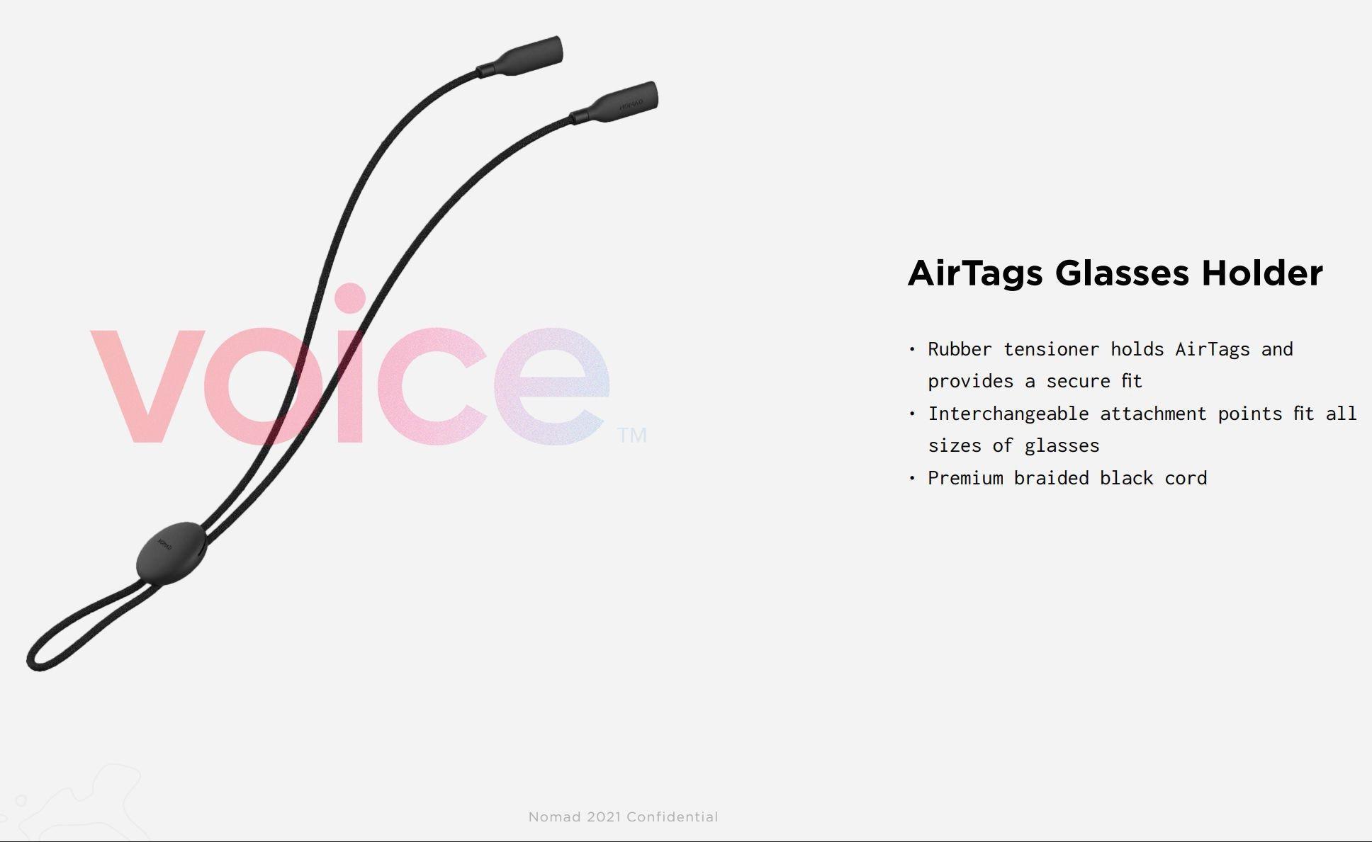 Accessori AirTags - Cordoncino Porta Occhiali Nomad