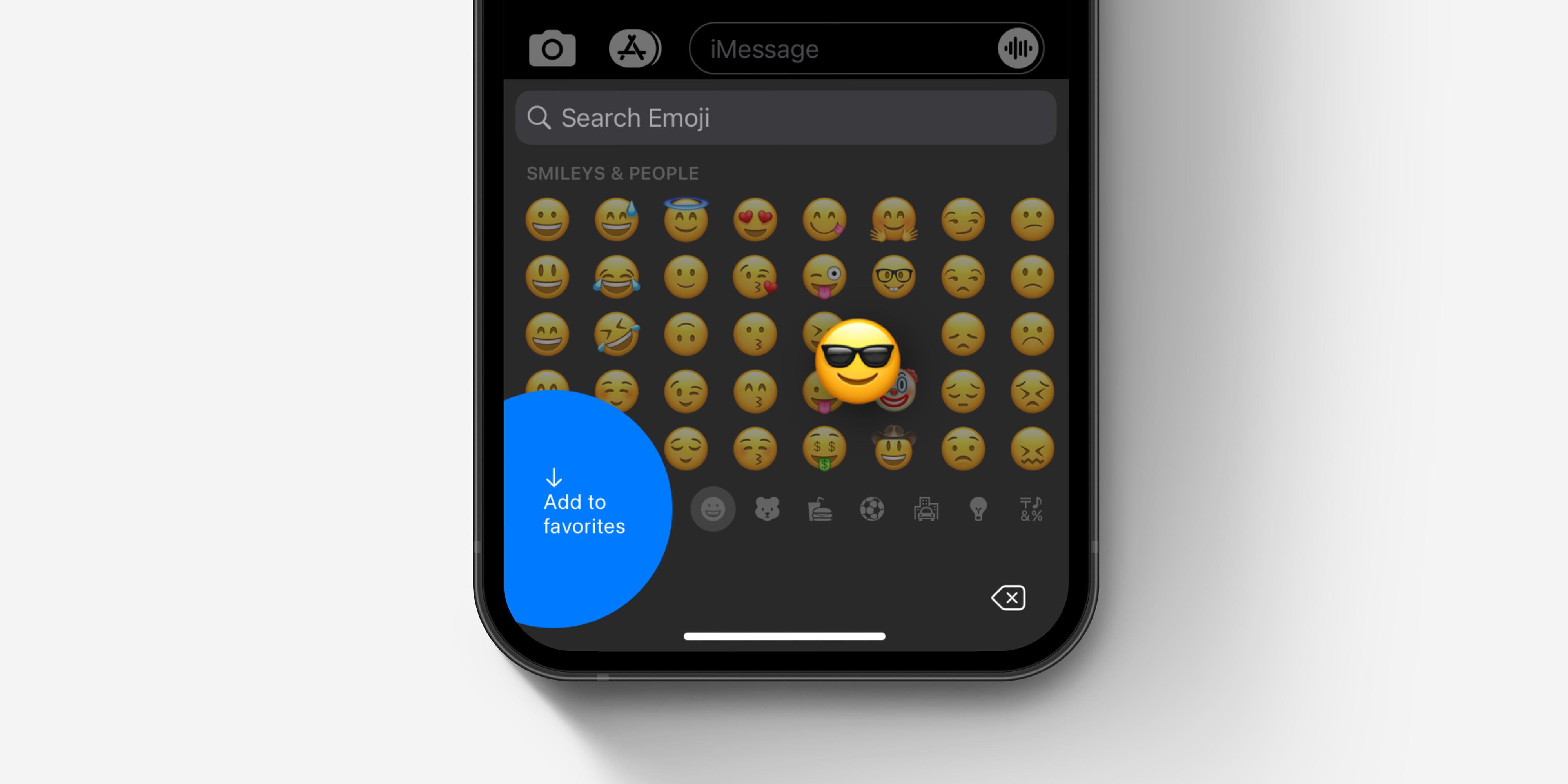 Aggiunta Preferiti Emoji