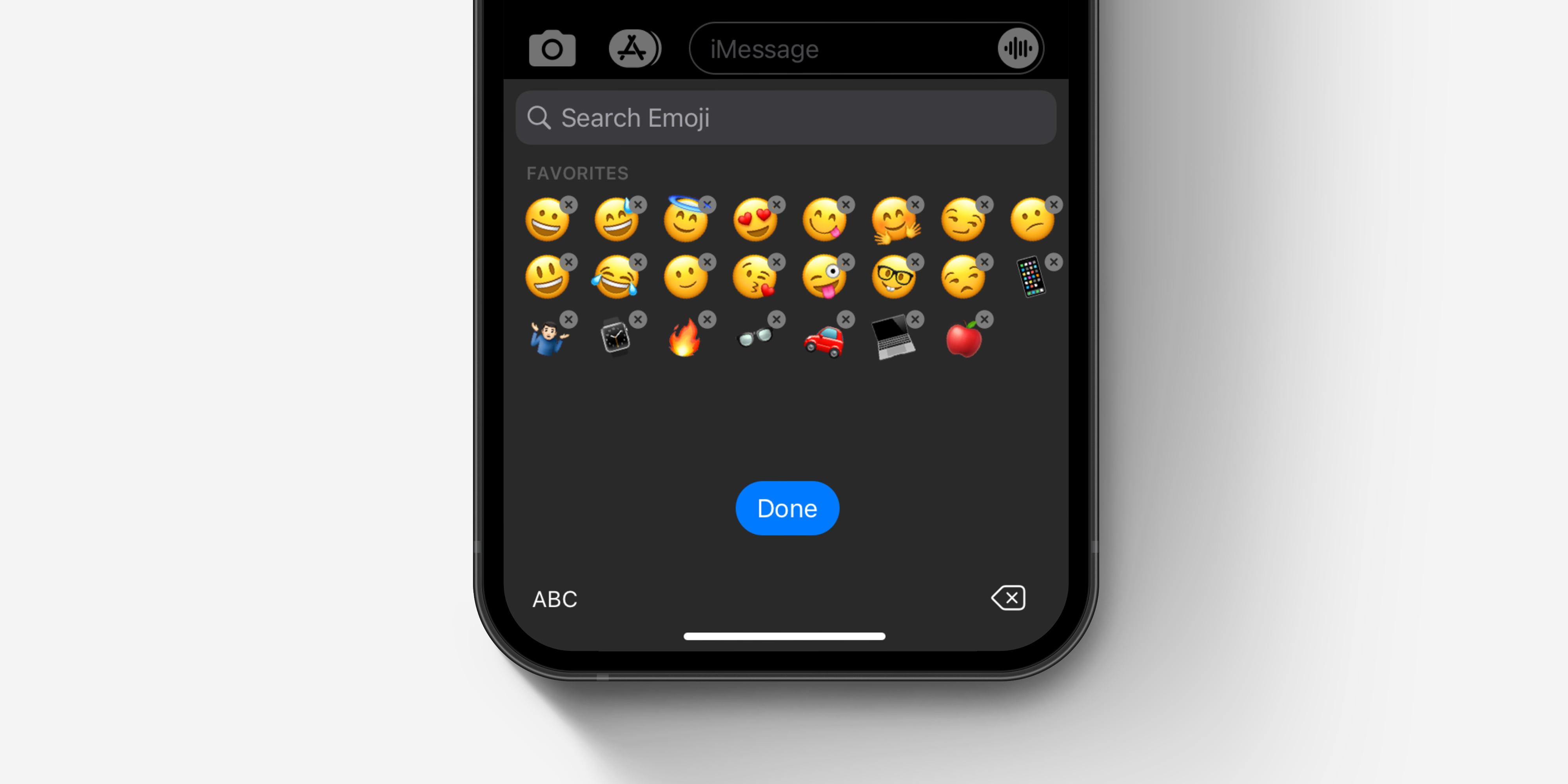 Eliminare Emoji Preferiti