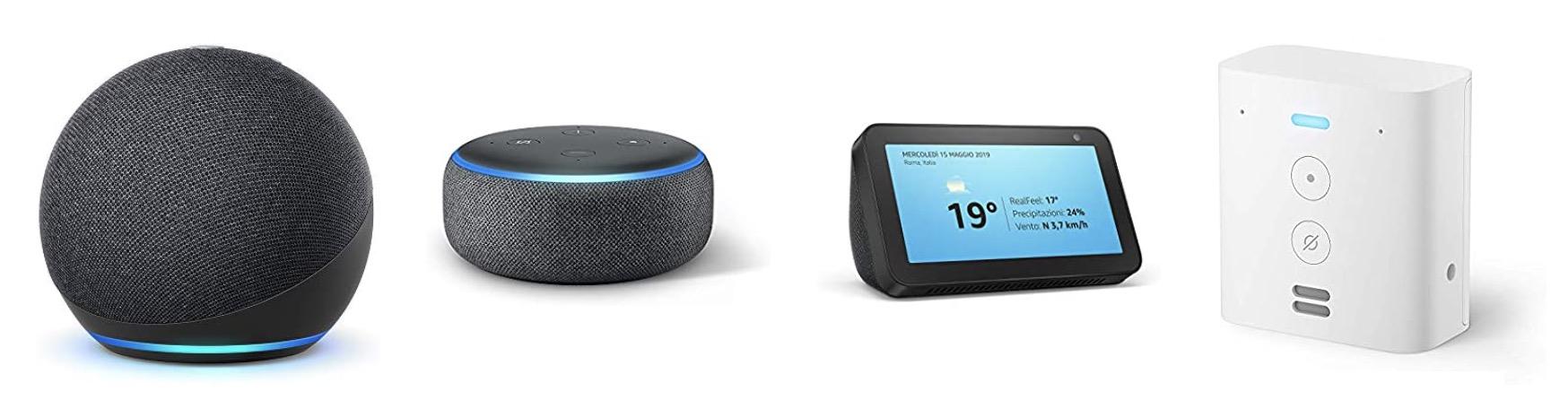 Offerte di Primavera su Amazon Echo