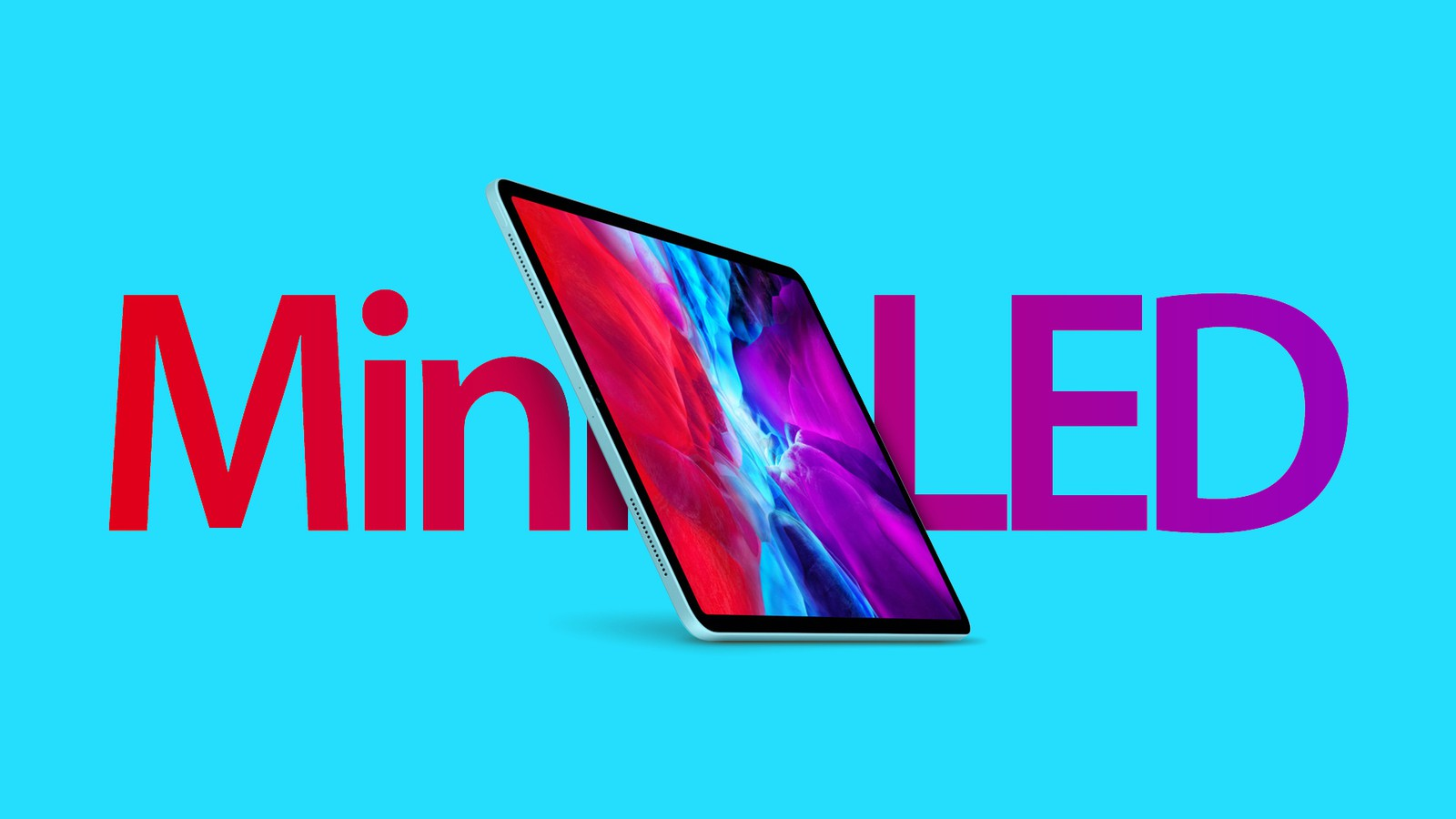 iPad Pro miniled