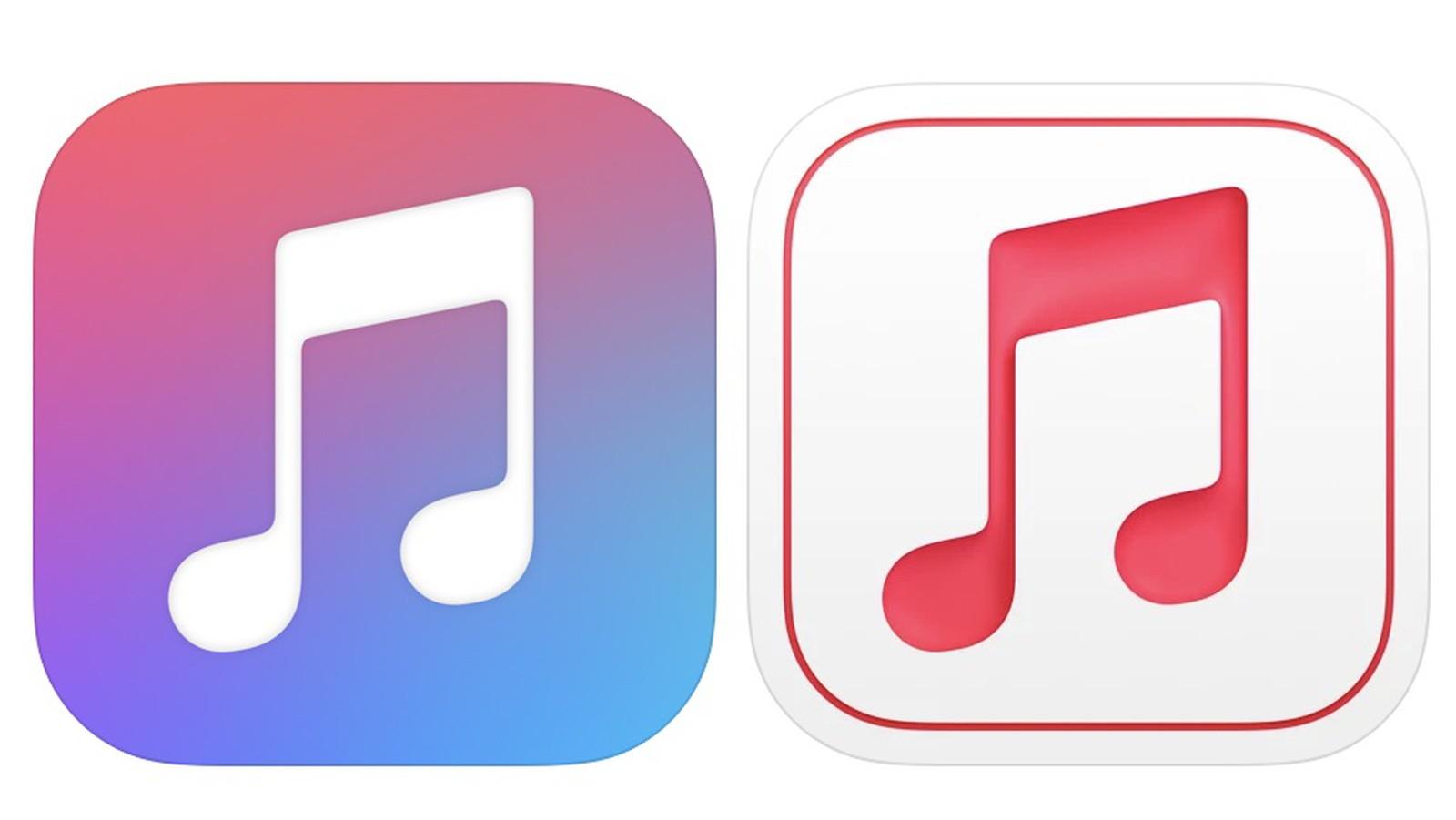 Icona Apple Music iOS 15