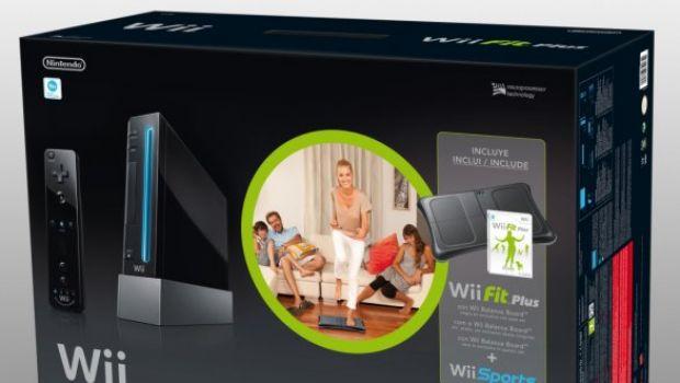 Wii e Wii Fit Plus in un bundle natalizio