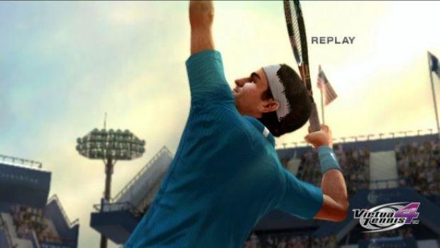 Virtua Tennis 4 uscirà ad Aprile in Europa