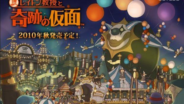 Professor Layton and the Mask of Miracle è il titolo momentaneamente più venduto su 3DS