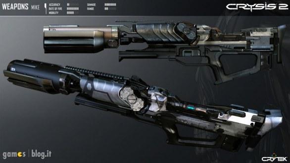 """Crysis 2: immagini delle armi e nuovo video """"Be Fast"""""""