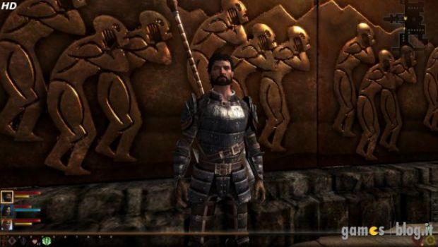 Dragon Age II: immagini comparative della versione PC con texture a bassa e ad alta definizione