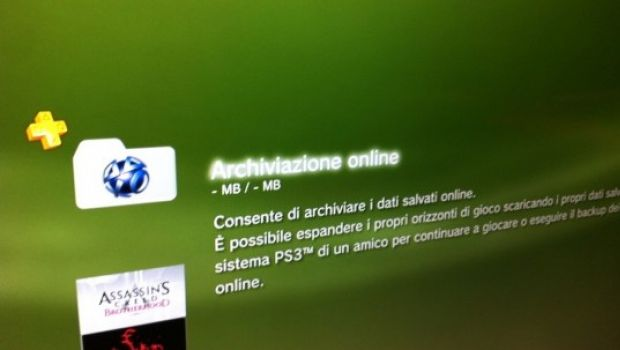 PS3: firmware 3.60 e archiviazione online dei salvataggi disponibili – immagini