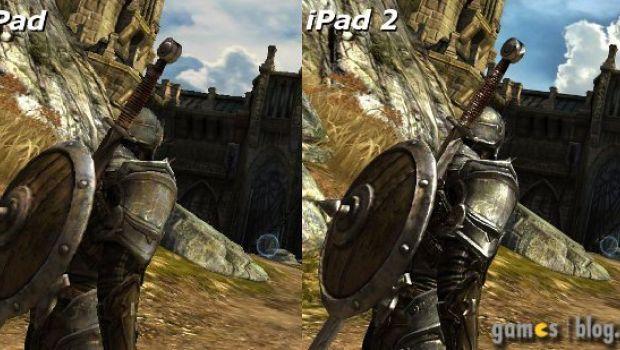 Infinity Blade: immagini comparative delle versioni iPad e iPad 2
