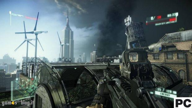 Crysis 2: immagini comparative della demo multiplayer su PC, PS3 e X360