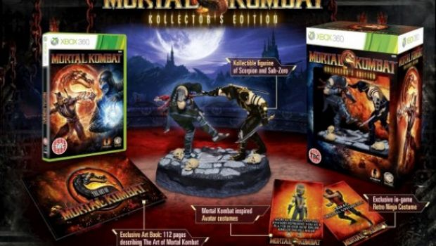 Mortal Kombat: annunciata la Kollector's Edition