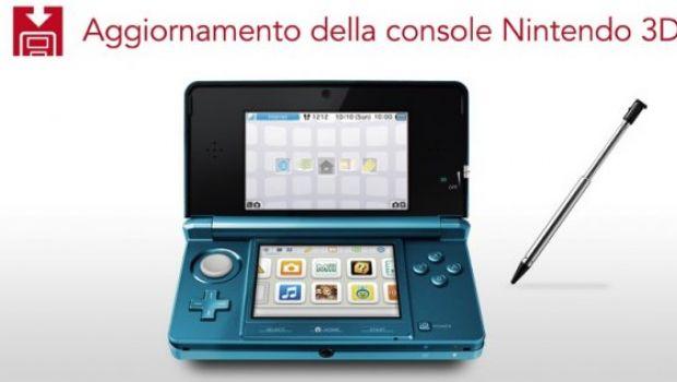 Nintendo 3DS: già disponibile il primo aggiornamento firmware 1.1.0-1