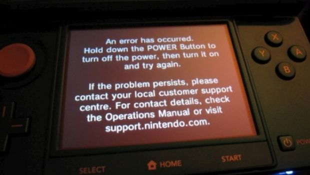 """Nintendo 3DS: spunta un preoccupante """"black screen of death"""""""