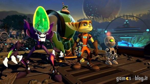 Ratchet & Clank: All 4 One in immagini e video di gioco