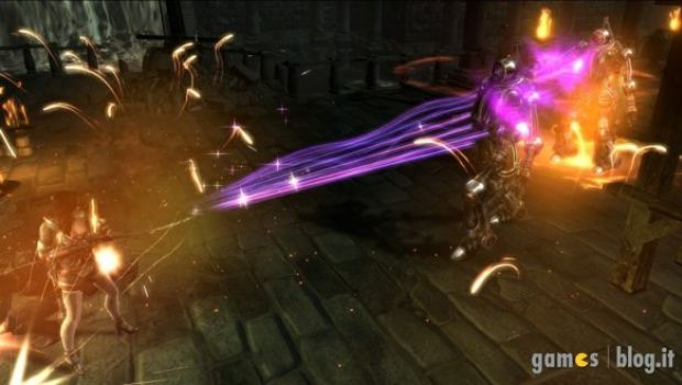 Dungeon Siege III: nuove immagini di gioco con Katarina