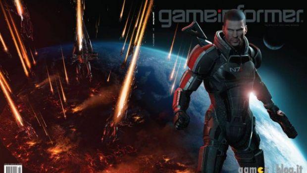 Mass Effect 3: Shepard e i Reaper protagonisti della copertina del prossimo numero di Game Informer