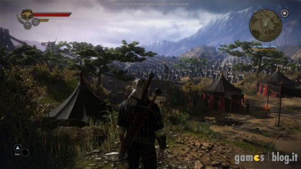 The Witcher 2: Assassins of Kings – immagini comparative delle versioni con dettagli grafici minimi e massimi