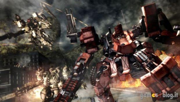 Armored Core 5 in immagini di gioco ed artwork