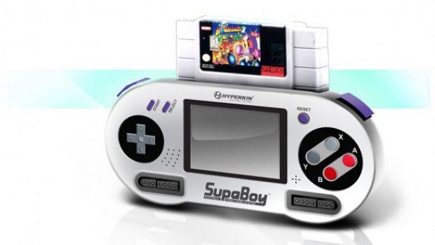 SupaBoy: ecco il Super Nintendo portatile