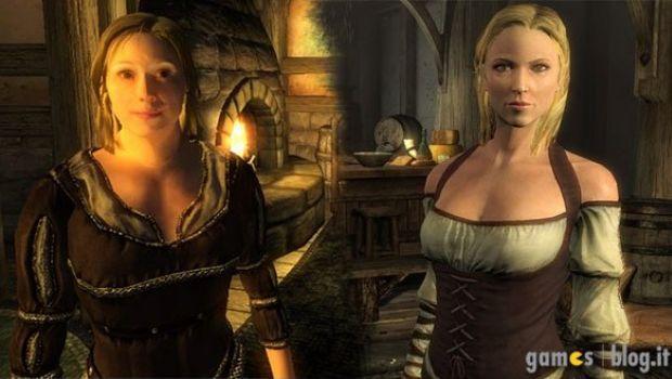 The Elder Scrolls: immagini comparative tra Skyrim e Oblivion
