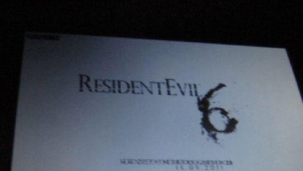 Resident Evil 6: svelato il logo, dettagli a settembre?