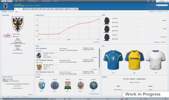 Football Manager 2012: annuncio, immagini e gameplay video