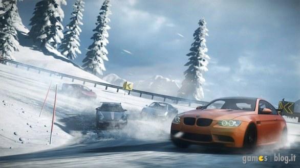 [GamesCom 2011] Need For Speed: The Run – immagini e video su un inseguimento in montagna