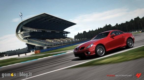 [GamesCom 2011] Forza Motorsport 4: immagini e video dal circuito di Hockenheim