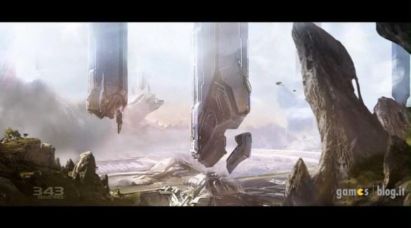 Halo 4: nuovi bozzetti preparatori