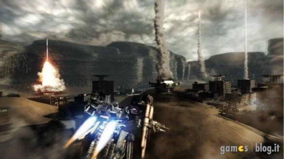 """[GamesCom 2011] Armored Core 5: le ambientazioni in immagini e la """"visuale tattica"""" del multiplayer in video"""