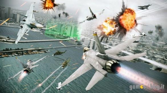[GamesCom 2011] Ace Combat: Assault Horizon – video-dimostrazione e nuove immagini