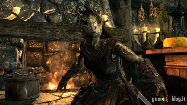 Elder Scrolls V: Skyrim – nuove immagini sulle razze impersonabili