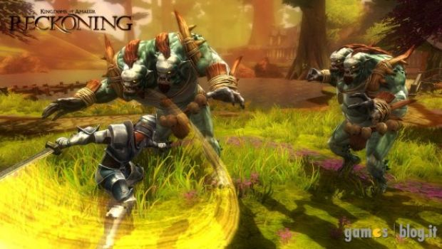 Kingdoms of Amalur: Reckoning torna a combattere in foto