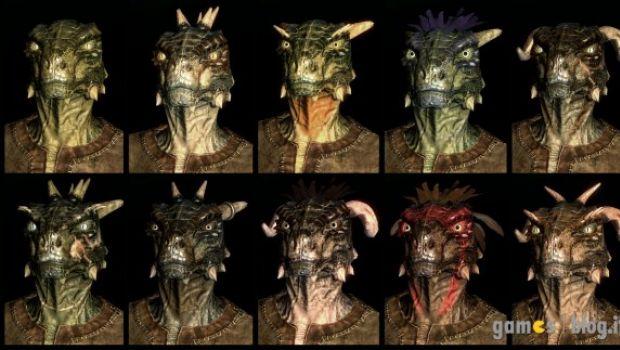 Elder Scrolls V: Skyrim – le potenzialità del Face Creator in immagini