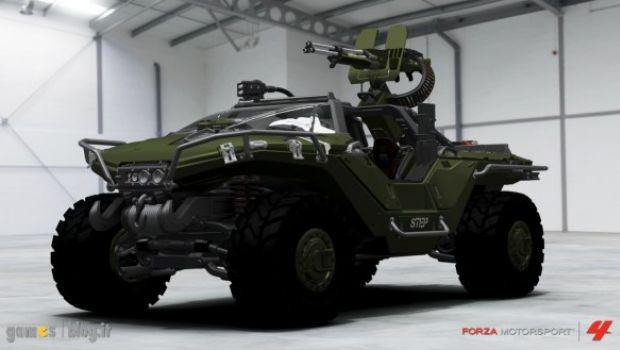 Forza Motorsport 4: il Warthog di Halo 4 in immagini e video