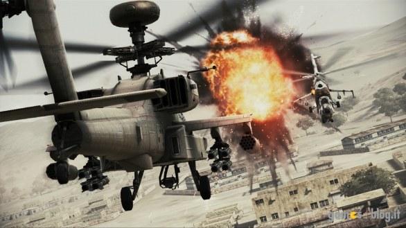 Ace Combat: Assault Horizon in demo da domani – immagini e video sugli elicotteri